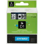 Dymo Black on Clear D1 Label Tape DYM53710