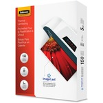 Fellowes Glossy Pouches - Letter, 5mil, 150 Pack FEL5204007