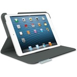 Logitech Folio Carrying Case (Folio) for iPad mini - Carbon Black LOG939000632