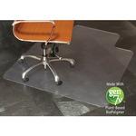 E.S.ROBBINS Clear Vinyl Nat. Origins Lip Chair Mat ESR143002