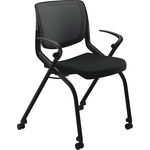 HON Motivate Seating Nesting Flex-back Stack Chair HONMN202ONCU10
