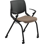 HON Motivate Seating Nesting Flex-back Stack Chair HONMN202SDCU24