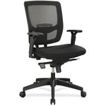 Lorell Executive Mesh Adjustable-height Mid-back Chair LLR84562