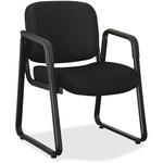 Lorell Black Fabric Guest Chair LLR84576