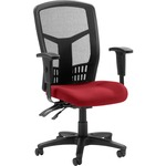 Lorell 86000 Series Executive Mesh High-Back Chair LLR8620002