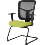 Lorell 86000 Series Mesh Side Arm Guest Chair LLR8620209