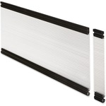 Lorell Desktop Panel System Glazed Panel LLR87627