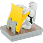 Post-it Karate Pop-up Note Dispenser with Pen Holder MMMKD330