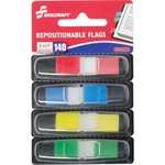 Skilcraft Self-stick Repositionable Color Flags NSN6200283