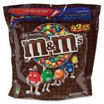 Marjack Advantus M&M's Plain Chocolate Candy w/Zipper MRSSN32438