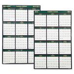 "Skilcraft 2-Sided Dated Wall Paper Calendars, 24"" x 37"" NSN6008032"