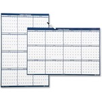 "Skilcraft 2-Sided Dated Erasable Wall Paper Calendars, 24"" x 37"" NSN6008042"