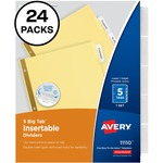 Avery Worksaver Insertable Dividers Value Pack AVE11113
