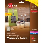 Avery Kraft Brown Label Strip AVE22847
