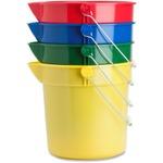 Genuine Joe 4-Pack 10 qt. Utility Buckets GJO02346