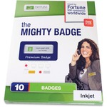 Imprint Plus Mighty Badge Name Badge Refill Kit IPP901804