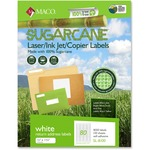 Maco Printable Sugarcane Mailing Labels MACMSL8100