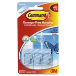 Command Clear Window Hanging Hooks MMM17066CLRUV