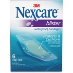 Nexcare Blister Waterproof Bandages MMMBWB06