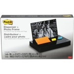 3M Post-it Pop-up Notes Glossy Desk Organizer MMMPH100BK