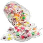Office Snax Sugar Free Assorted Lollipops Tub OFX00068