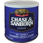 Chase and Sanborn Arabica Ground Coffee in 34.5 oz. Can (33000)