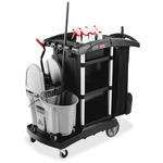 Rubbermaid High Capacity Executive Cleaning Cart RCP1861429