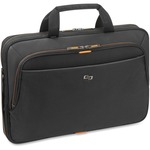 "Solo Carrying Case (Briefcase) for 15.6"" Notebook - Black, Orange USLUBN1014"