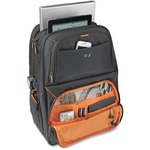"Solo Carrying Case (Backpack) for 17.3"" Notebook - Black, Orange USLUBN7014"