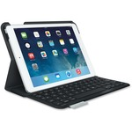 Logitech Ultrathin Keyboard/Cover Case (Folio) for iPad Air - Carbon Black LOG920005905