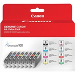 Canon CLI-8 Multi-pack Ink Cartridge - Black, Cyan, Magenta, Yellow, Photo Cyan, Photo Magenta, Red, Green CNMCLI88COLORS