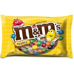 M&M's Peanut Zipper Bag Chocolate Candies MRS24929