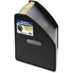C-Line 13-Pocket Vertical Expanding File, Letter Size, Black, 1/EA, 58810 58810