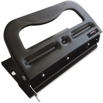 SKILCRAFT Comfort Grip 3HP Heavy-duty Paper Punch NSN6203315