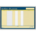 House of Doolittle Aluminum Frame In/Out Laminated Planner HOD6660