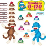 Trend Sock Monkeys Num 0-120, 266 Pieces, Multi TEPT8298
