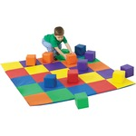 Childrens Factory Patchwork Mat Matching Blocks Set CFI322047