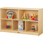 Jonti-Craft Low Single Mobile Storage Unit JNT0392