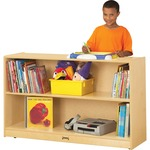 Jonti-Craft Kydz Low Adjustable Bookcase JNT0792