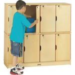 Jonti-Craft Double Stack 8-Section Student Locker JNT4696