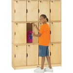 Jonti-Craft Triple Stack 12-Section Student Locker JNT4697