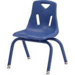 "Jonti-Craft Berries Chrome Leg 12"" Stacking Chair JNT81221003"