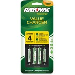 Rayovac PS133-4B 4 Position Value Charger RAYPS1334B