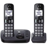 Panasonic KX-TGD222N DECT 6.0 1.90 GHz Cordless Phone - Champagne Gold PANKXTGD222N