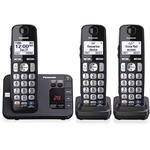 Panasonic KX-TGE233B DECT 6.0 1.90 GHz Cordless Phone - Black PANKXTGE233B
