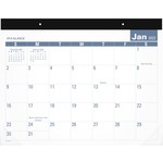 At-A-Glance E-Z Read Monthly Desk Pad AAGSKLP2432