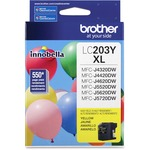 Brother Innobella LC203Y Ink Cartridge - Yellow BRTLC203Y
