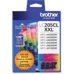 Brother Innobella LC2053PKS Ink Cartridge - Cyan, Magenta, Yellow BRTLC2053PKS