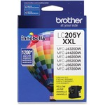 Brother Innobella LC205Y Ink Cartridge - Yellow BRTLC205Y
