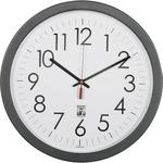"SKILCRAFT 14.5"" Round SelfSet Wall Clock NSN6238823"